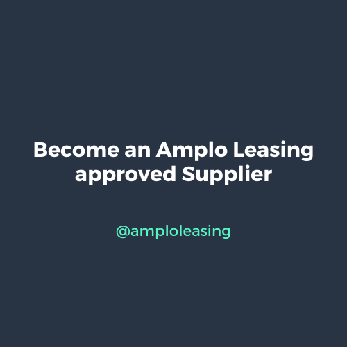 Become an Amplo Leasing approved Supplier